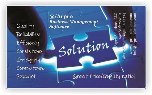 Accounting can be easy with @/Arpro solutions
