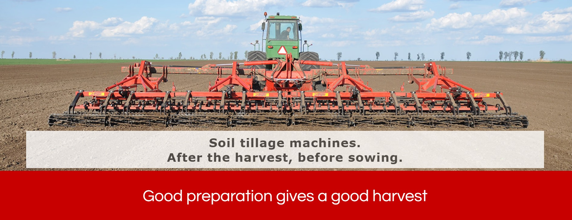 Dante Macchines for Agriculture Makes Soil Tilling Machines