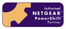 We are a Multi-year Netgear Powershift Partner