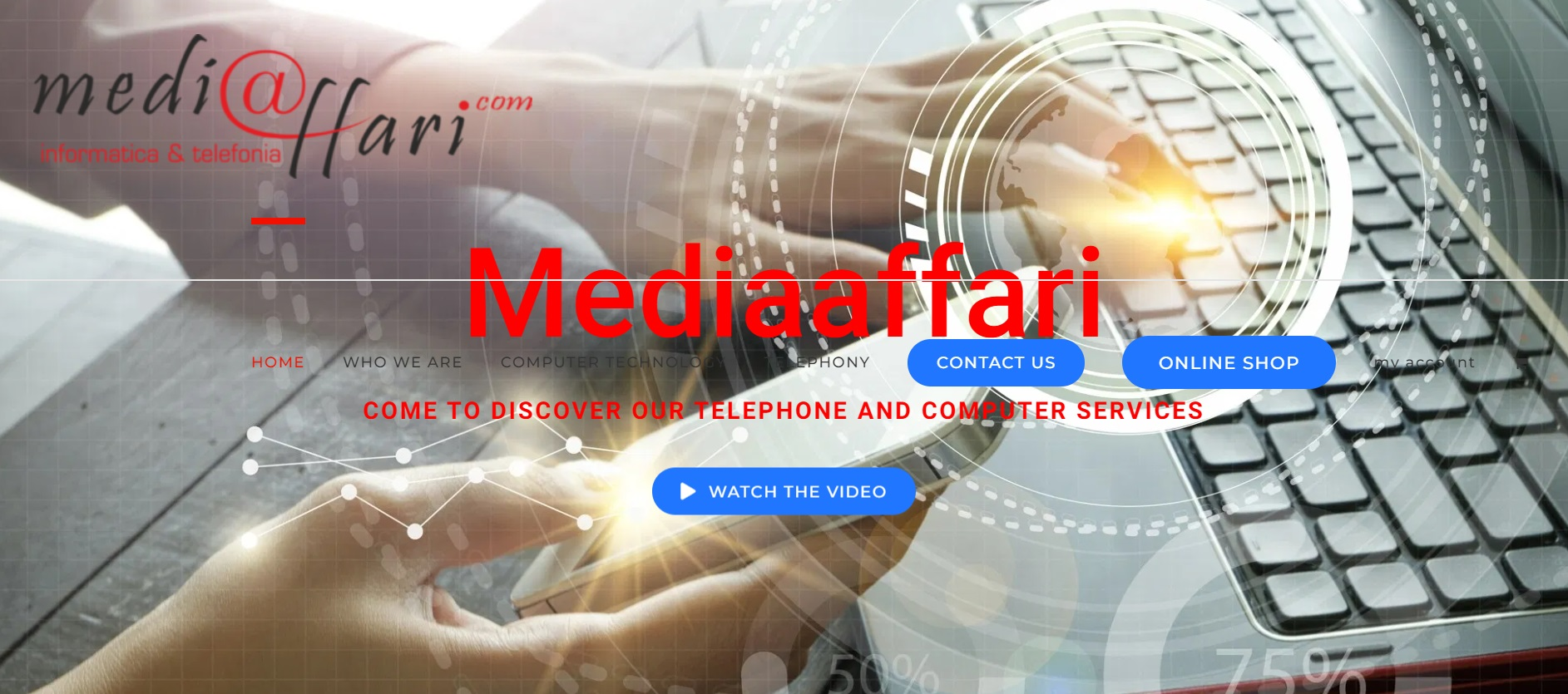 MediaAffari Advanced IT Repairs & Sales Web Design and e commerce Software