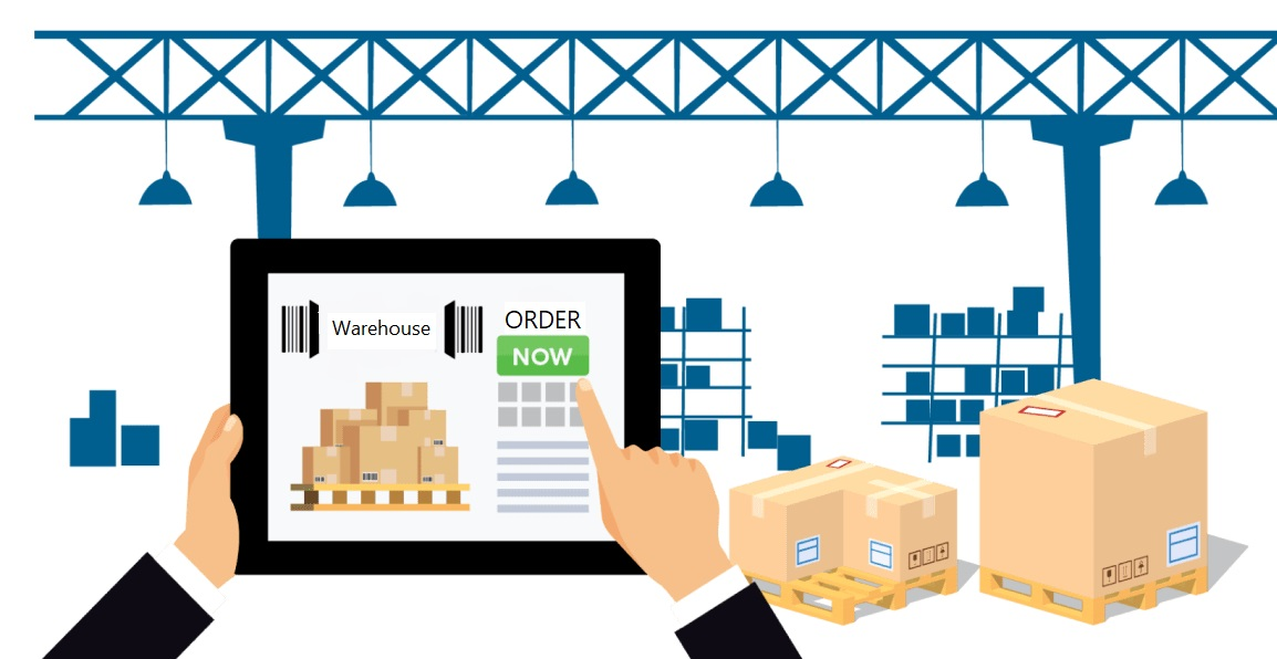 Easy Electronic Orders directly to supply warehouse